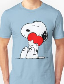 Snoopy Heart Love T-Shirt