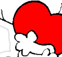 Snoopy Heart Love Sticker