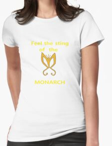 Sting of the Monarch Womens Fitted T-Shirt