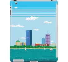 Boston Pixel Skyline iPad Case/Skin