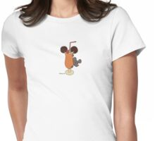 Wildago's Cocktail Mouse Womens Fitted T-Shirt