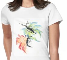 Kazart Butterfly Ants Womens Fitted T-Shirt