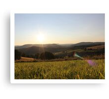 pbbyc - Wavey Valleys Canvas Print