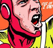 Post-Punk Heroes | Fire Sticker