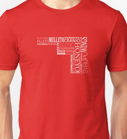 Words - Translation of the Longest word in English - in White Unisex T-Shirt