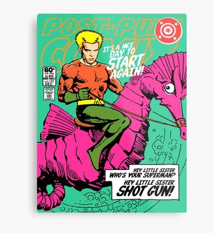 Post-Punk Heroes | Aqua Metal Print