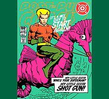 Post-Punk Heroes   Aqua T-Shirt