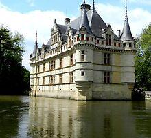 Azay-le-Rideau by hans p olsen