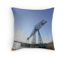 pbbyc - Transporter Throw Pillow