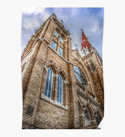 HDR Church Poster