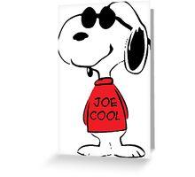 Snoopy Joe Cool Greeting Card