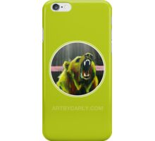 Grizzly Green iPhone Case/Skin