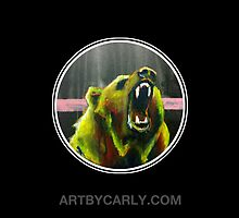 Grizzly Black by ArtByCarly