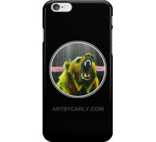 Grizzly Black iPhone Case/Skin