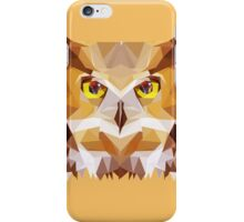 Low ploy Owl  iPhone Case/Skin