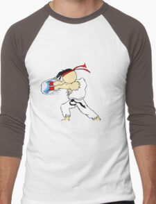 RYU's Hadouken Men's Baseball ¾ T-Shirt