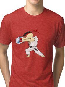 RYU's Hadouken Tri-blend T-Shirt
