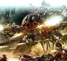 Iron Warriors Obliterator by FailedDEATH666