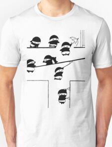 Chubbi Ninja - Black T-Shirt