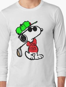 Joe Cool and Golf Long Sleeve T-Shirt