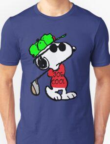 Joe Cool and Golf Unisex T-Shirt