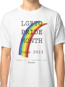 LGBTQ Pride Month Classic T-Shirt