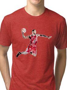 Derrick Rose Shirt Design Tri-blend T-Shirt