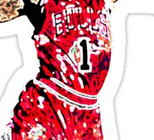 Derrick Rose Shirt Design Sticker