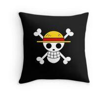 One Piece flag Throw Pillow