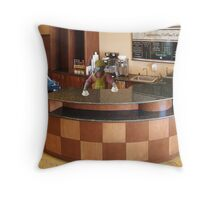Cap, the lesser known Pacino brother, decides not to follow Al into acting. Throw Pillow