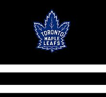 Toronto Maple Leafs iPhone Case by redastherose