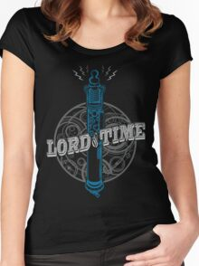 Steampunk Dr Who Women's Fitted Scoop T-Shirt