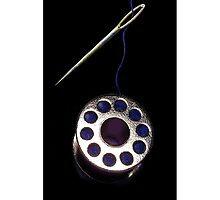 ☝ ☞ THREADED NEEDLE AND SPOOL IPHONE CASE☝ ☞ by ╰⊰✿ℒᵒᶹᵉ Bonita✿⊱╮ Lalonde✿⊱╮