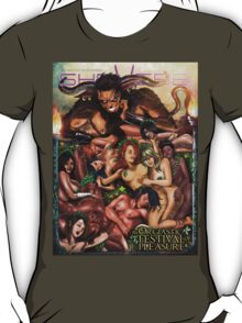 SheVibe Pan Orgy Cover Art - Safe T-Shirt