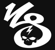 KrakkdSkullz - KS Logo - White by krakkdskullz
