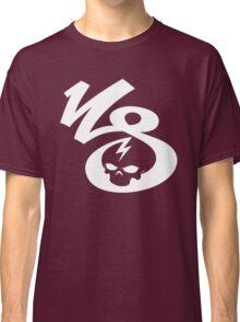 KrakkdSkullz - KS Logo - White Classic T-Shirt