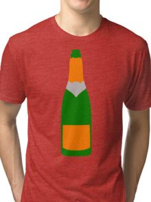 Champagne bottle Tri-blend T-Shirt