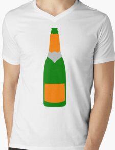 Champagne bottle Mens V-Neck T-Shirt