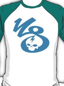 KrakkdSkullz - KS Logo - Cyan T-Shirt