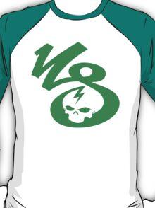 KrakkdSkullz - KS Logo - Green T-Shirt