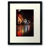 Beijing Nocturne Framed Print