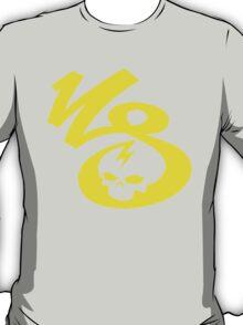 KrakkdSkullz - KS Logo - Yellow T-Shirt