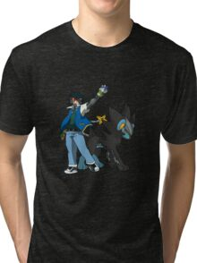 Metal Gear Pokemon Tri-blend T-Shirt
