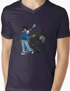 Metal Gear Pokemon Mens V-Neck T-Shirt