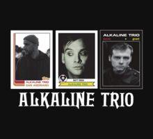 Alkaline Trio - Band Baseball Cards One Piece - Long Sleeve