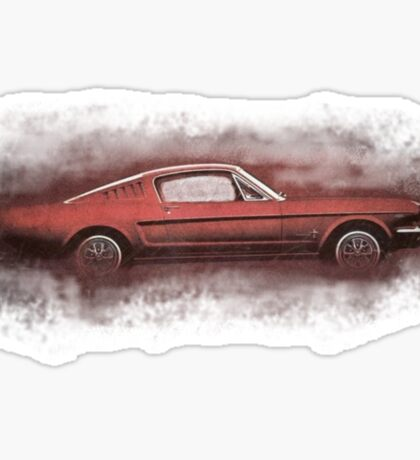 FORD MUSTANG. Sticker
