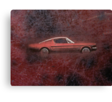 FORD MUSTANG. Canvas Print