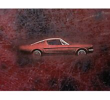 FORD MUSTANG. Photographic Print