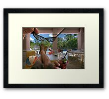I Know What You Did This Summer... Framed Print