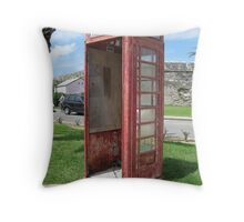 Bermuda Telephone Booth . . .  Throw Pillow